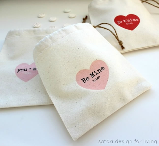 Homemade Valentine's Day Gifts: Treat Bags