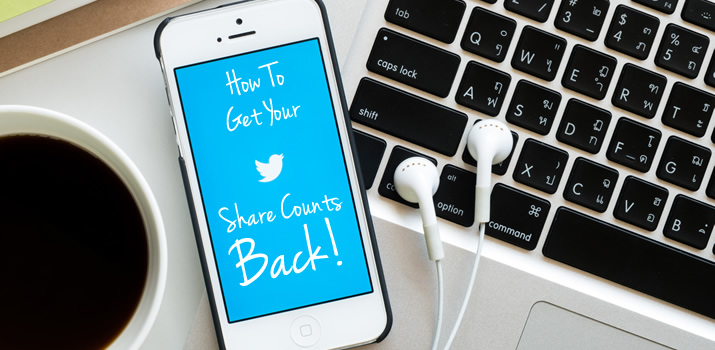 """How To Get Your Twitter Share Counts Back"" is locked How To Get Your Twitter Share Counts Back"