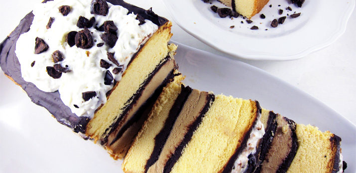 Coffee Ice Cream Pound Cake