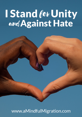 Two Absolute Truths about Hate and White Supremacy. I stand united against hate, racism and bigotry.