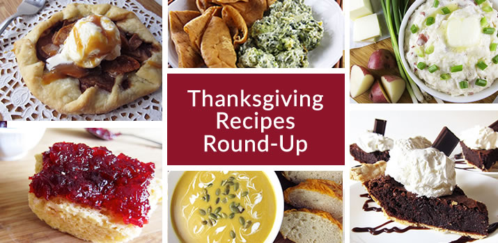 2017 Thanksgiving Recipe Round-Up