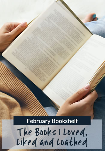 February Bookshelf: Book reviews for Burn Bright by Patricia Briggs, Dark in Death by J.D. Robb and more.