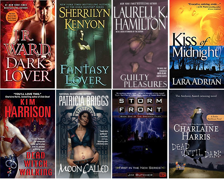Guilty Pleasure Fantasy Books