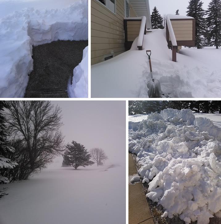 snow montage