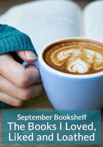 September Bookshelf: The Books I Loved, Liked and Loathed. Book reviews for Leverage In Death by J.D. Robb and Pride by Ibi Zoboi.