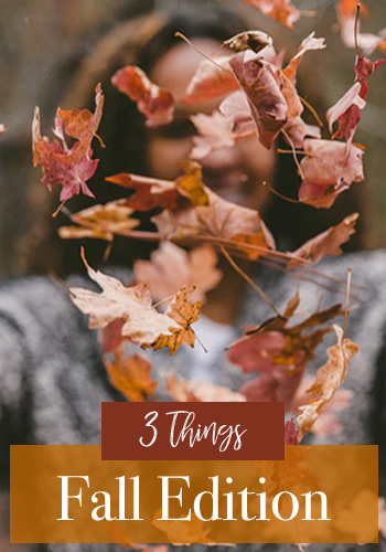 It's Fall! Tanya's sharing some of her favorite Fall activities, foods and dislikes.
