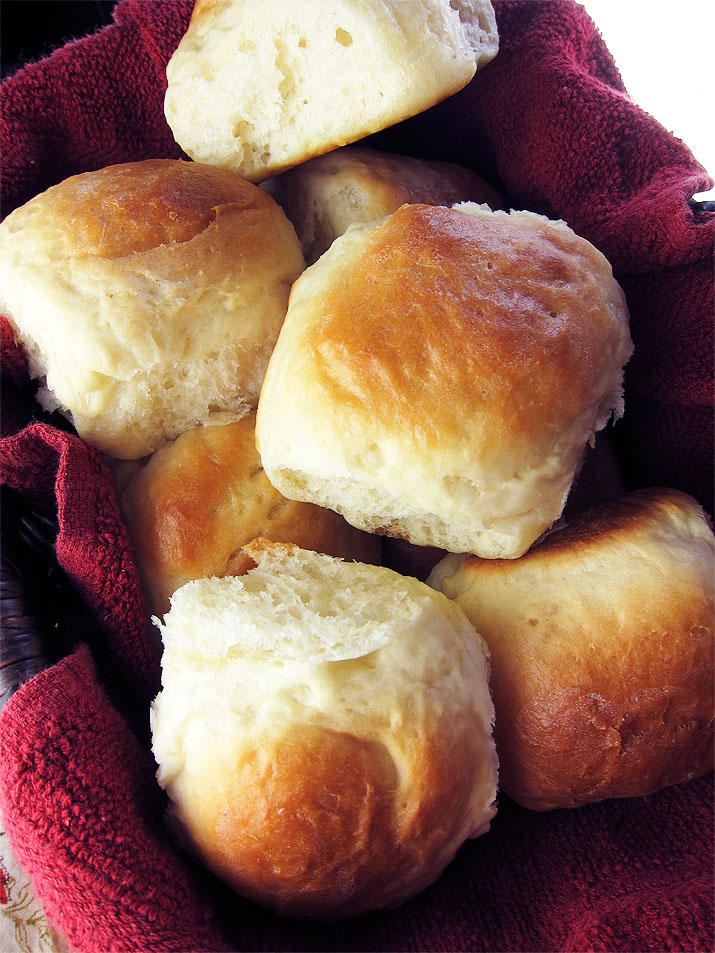 Potato Dinner Rolls are light and fluffy and will wow guests at your Thanksgiving dinner.