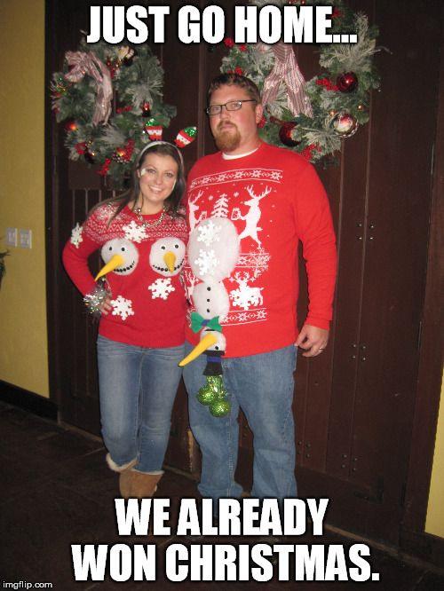 Christmas Sweater Meme